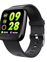 Недорогие -Смарт Часы Цифровой Современный Спортивные силиконовый 30 m Защита от влаги Пульсомер Bluetooth Цифровой На каждый день На открытом воздухе - Черный Лиловый Красный