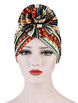 Недорогие -Жен. Классический Широкополая шляпа Полиэстер,Однотонный Цветочный принт Все сезоны Пурпурный Оранжевый Желтый