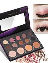 Недорогие -HAPPY MAKEUP 14 цветов Тени Глаза Специальный дизайн / Сборное Красота Косплей Повседневный макияж / Макияж на Хэллоуин / Макияж для вечеринки косметический