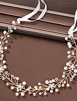 cheap -Women's Hair Jewelry For Wedding Engagement Party Engagement Wedding Geometrical Crystal Alloy Gold 1 pc