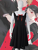 Недорогие -Вдохновлен Kaguya-sama: Love is War Косплей Аниме Косплэй костюмы Японский Платья Назначение Жен.
