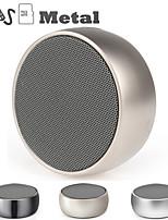 Недорогие -Беспроводной металлический динамик bs01 металлический мини портативный звук сабвуфера с микрофоном tf-карта mp3 музыка играть громкоговоритель