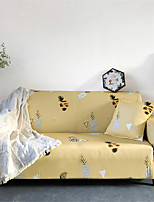 Недорогие -Желтый мультфильм ананас пыленепроницаемый всесильный чехлы на стрейч чехол для дивана супер мягкая ткань чехол для дивана с одной бесплатной наволочкой