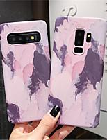 Недорогие -Кейс для Назначение SSamsung Galaxy S9 / S9 Plus / S8 Plus Сияние в темноте / С узором Кейс на заднюю панель Градиент цвета Твердый ПК