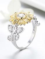 Недорогие -2019 модные цветочные кольца из циркона серебристого цвета кольца элегантные модные украшения для женщин ну вечеринку свадьба engme подарок ffr197
