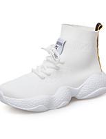 Недорогие -Жен. Ботинки Микропоры Tissage Volant Лето Белый / Черный