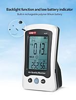 Недорогие -uni-t a15f монитор качества воздуха детектор формальдегида тестер измеритель температуры и влажности аккумуляторная hcho газоанализатор