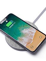 Недорогие -Беспроводное зарядное устройство Зарядное устройство USB USB с кабелем / Беспроводное зарядное устройство / Qi 1 USB порт 2 A DC 9V / DC 5V для Универсальный