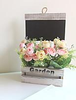 Недорогие -Искусственные Цветы 5 Филиал Классический Современный современный Вечные цветы Букеты на стол