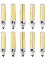 Недорогие -10 шт. 5 W LED лампы типа Корн 1000-1200 lm E11 T 136 Светодиодные бусины SMD 5730 Диммируемая Декоративная Тёплый белый Холодный белый 220 V 110 V