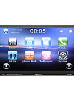 Недорогие -Hevxm 888 7-дюймовый 2-дюймовый автомобильный MP5-плеер с сенсорным экраном / встроенный Bluetooth / радио для универсальной поддержки Bluetooth RM / RMVB / MP4 MP3 / WAV JPG