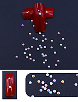Недорогие -1 упаковка ab цвета жемчуг с плоской спинкой аксессуары для ногтей diy смолы бусы ювелирные изделия круглые / бриолет / квадрат / овал / лист поставки ногтей 6 размер