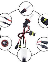 Недорогие -2 шт. / Компл. 55 Вт h11 / h8 / h9 hid ксеноновые фары комплект для переоборудования 3000-12000 К для автомобиля