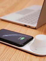 Недорогие -Беспроводное зарядное устройство Yeelight со светодиодным ночным магнитным притяжением, быстрая зарядка для iphone (продукт экосистемы xiaomi)