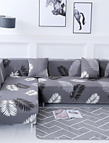 cheap -Feather Print Dustproof All-powerful Slipcovers Stretch Sofa Cover Super Soft Fabric Couch Cover with One Free Pillow Case