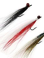 Недорогие -4 шт. # 4 свинцовой головкой clouser глубокий минноу 9 цветов пресной и морской воды приманки имитация обманщик мухой