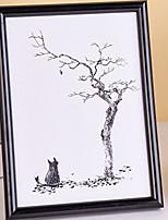 Недорогие -Современный современный Дерево Зеркальное Рамки для картин, 1шт