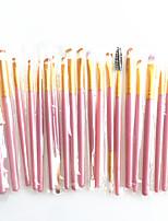 Недорогие -профессиональный Кисти для макияжа 20pcs Закрытая чашечка удобный Кисть из синтетических волокон Деревянные / бамбуковые за Косметическая кисточка