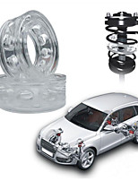 Недорогие -1 пара автомобилей буферы амортизатор для автомобиля весной бампер мощности авто-буферы пружины бамперы инструмент для ремонта аксессуаров
