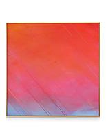 Недорогие -Холст в раме - Абстракция Полистирен Масляные картины Предметы искусства