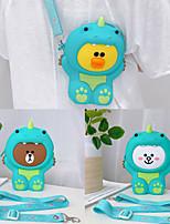 Недорогие -сумка для мобильного телефона кошелек одно плечо диагональ крест для хранения наушников большая сумка милый силиконовый мультфильм