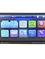 Недорогие -7-дюймовый 2-дюймовый автомобильный MP5-плеер с сенсорным экраном / встроенный Bluetooth / радио для универсальной поддержки Bluetooth MP4 MP3 JPEG / автомобильный MP5-плеер / модель MP5-7060b