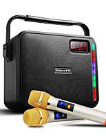 Недорогие -p2 bluetooth мультимедиа беспроводной микрофон k песня мобильный портативный портативный аудио