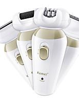 Недорогие -Kemei Эпилятор KM-1532 для Жен. Новый дизайн / Низкий шум / Многофункциональный / Низкая вибрация