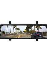 Недорогие -Ziqiao R9 HD ночного видения с двумя объективами спринт-камеры контроля парковки зеркало заднего вида камеры вождения записи рекордер контроля парковки автомобиля видео рекордер