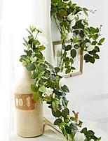 Недорогие -Искусственные Цветы 1 Филиал С креплением на стену Modern Розы