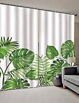 Недорогие -Веб знаменитости стиль 3d печать ткани шторы утолщенные полные шторы для гостиной водонепроницаемый литьевой влагостойкие занавески для душа
