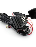 Недорогие -мотоцикл двойной usb интерфейс зарядное устройство 2.1a большое зарядное устройство мобильного телефона ремонт аксессуар