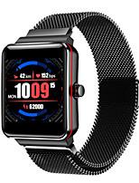 Недорогие -Муж. Спортивные часы Цифровой Современный Спортивные 30 m Защита от влаги Bluetooth Smart Цифровой На каждый день На открытом воздухе - Черный Черный / Серебристый Черный / Красный