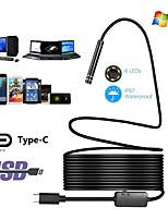 Недорогие -HD промышленный эндоскоп типа c android эндоскоп водонепроницаемый мобильный телефон эндоскоп кондиционер воздуховод шнур 10 м
