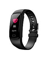 Недорогие -фитнес-трекер смарт-браслет y9 сердечного ритма артериальное давление смотреть умный браслет умный