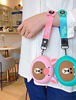 Недорогие -Девушка портативная портмоне для портативных наушников сумка для хранения милый мультфильм силиконовый ремешок