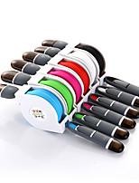 Недорогие -микро-USB / кабель молнии 1,0 м (3 фута) все-в-1/1/2 / выдвижной адаптер USB-кабель tpe для iphone / xiaomi / lenovo