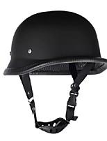 Недорогие -мотоциклетный шлем в немецком стиле мотокросс матовый черный м / л / xl-