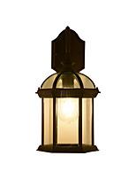 Недорогие -бра бра прозрачный стеклянный плафон водонепроницаемый современный скрытого монтажа настенные светильники / уличные настенные светильники / настенные светильники&усилитель; бра открытый