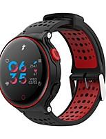 Недорогие -x2 умные часы цветной экран браслет спорт bluetooth группа фитнес браслет монитор сердечного ритма ip68 водонепроницаемый плавательный