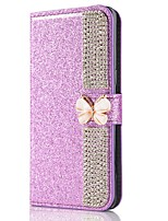 cheap -Case For Samsung Galaxy Note 20 Ultra S20 Plus S10 Plus Wallet Card Holder with Stand Glitter Shine Butterflies PU Leather Case For Samsung S9 Plus S8 Plus S7 Edge Note 10 Plus A51 A71