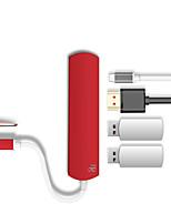 Недорогие -D8 TC-0424 USB 3.0 Тип C to HDMI 1.4 / USB 3.0 Тип C / USB 3.0 Тип B USB-концентратор 4 Порты Высокая скорость / LED индикатор / OTG / Функция поддержки питания