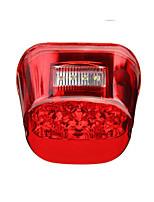 Недорогие -Задний фонарь мотоцикла задний ходовой свет лампы для Harley Dyna Толстяк Sportster Road King красный чехол