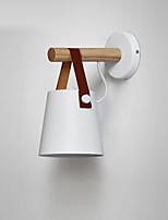 Недорогие -nordic простые деревянные настенные бра современные настенные светильники современный / нордический стиль&усилитель; бра спальня / кабинет / офис металлический настенный светильник