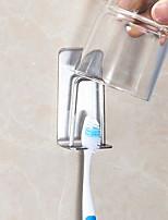 Недорогие -Стакан для зубных щеток Простой Современный современный Нержавеющая сталь 2pcs - Инструменты Зубная щетка и аксессуары