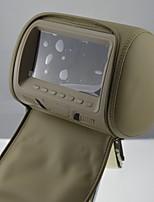 Недорогие -7-дюймовый монитор на подголовнике подключите 2-канальный AV-вход от DVD XM-779