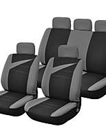Недорогие -LITBest Чехлы на автокресла Чехлы для сидений Черный Ткань / Полиэстер Общий Назначение Универсальный Все года