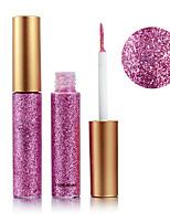 Недорогие -10 цветов Тени Тени для век Pro / Прост в применении Офис Повседневный макияж косметический