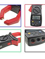 Недорогие -uni-t ut205 среднеквадратичное значение автоматического / ручного диапазона цифровой ручной токоизмерительный клещи мультиметр AC / DC напряжение ACA тестер