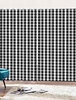 Недорогие -Дом простой дизайн черный белый клетчатый занавес ткань спальня гостиная пылезащитный противообрастающие плотные окна занавес
